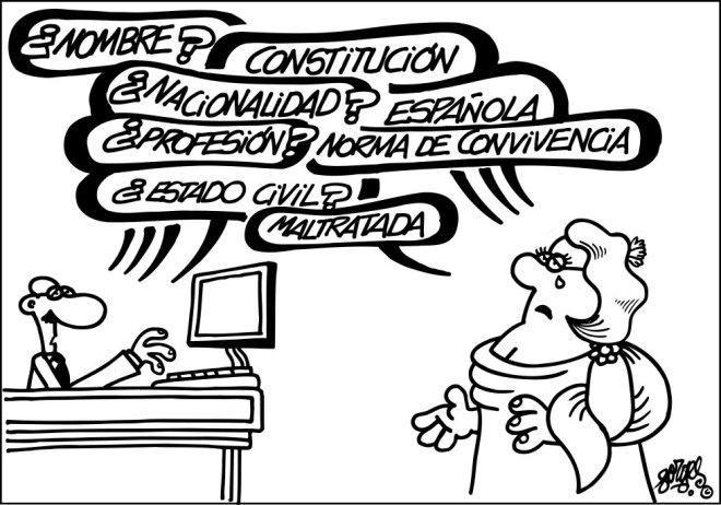 Constitución maltratada